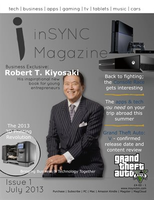 inSYNC Magazine, Issue One - July 2013