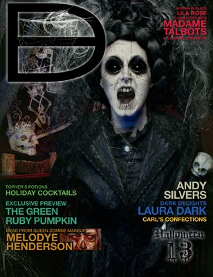 Dark Beauty Magazine - ISSUE 13 - Halloween '12