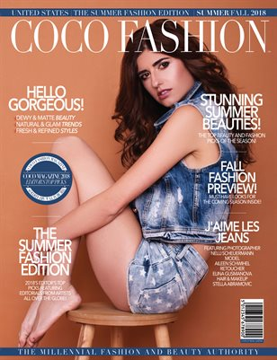 COCO Fashion Magazine - The Summer Fashion Edition - September 2018 Vol. 7