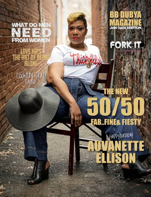 BBDUBYA MAGAZINE JAN 2020 EDITION FEAT AUVANETTE ELLISON