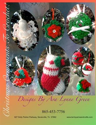 Christmas Ornaments To Crochet!