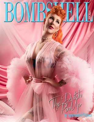 BOMBSHELL Magazine January 2021 - The Dutch PinUp Cover