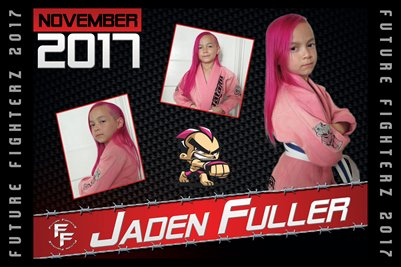 Jaden Fuller Cal Poster 2017