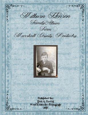 Milburn Henson Family Album, Marshall County, Kentucky