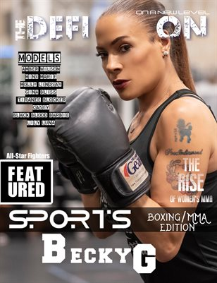 The Definition: Boxing/MMA edition Becky G Cover