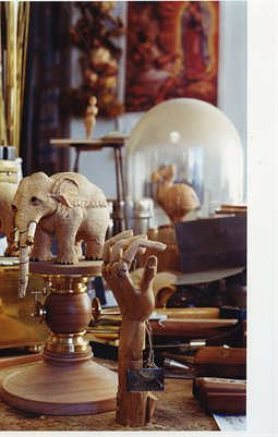 David Beck's Desk: Elephants and Fish