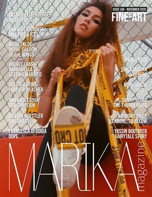 MARIKA MAGAZINE FINE-ART (NOVEMBER - ISSUE 346)