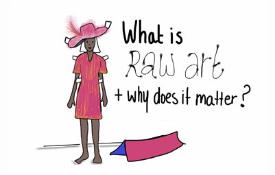 SketchZine - What is Raw Art?