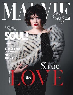 MALVIE Magazine The Artist Edition Vol 268 August 2021