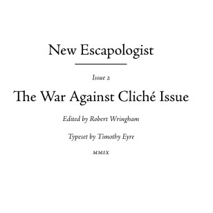 New Escapologist Issue Two