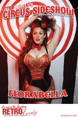 Circus & Sideshow 2021 Vol.2 – Florabella Cover Poster