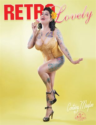 Retro Lovely No.38 – Cortney Maylee Cover