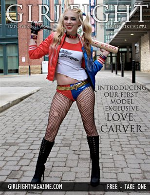 Love Carver | GIRLFIGHT Magazine, Exclusive Series