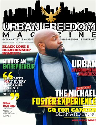 """Black History in the Making"" Vol 1:  Michael Foster Cover"