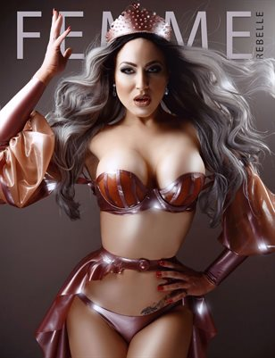 Femme Rebelle Magazine JANUARY 2018 - BOOK 2 - Kataxenna Kova Cover