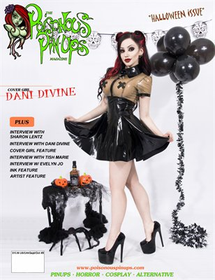 Posionous Pinups Magazine Issue9 Dani Divine Cover