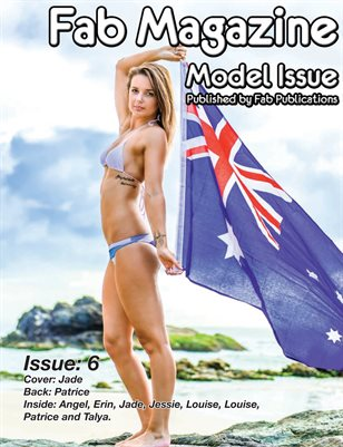Fab Magazine Model Issue 6