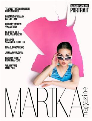 MARIKA MAGAZINE PORTRAIT (ISSUE 981 - JUNE)
