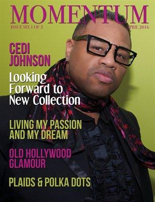 Momentum Mag 4 page Cedi Johnson