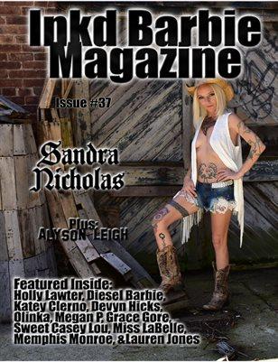 Inkd Barbie Magazine Issue #37 - Sandra Nicholas