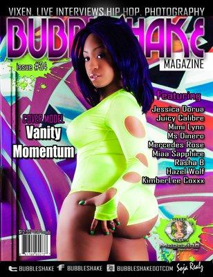 Bubble Shake Magazine issue #34 (Vanity  Momentum)