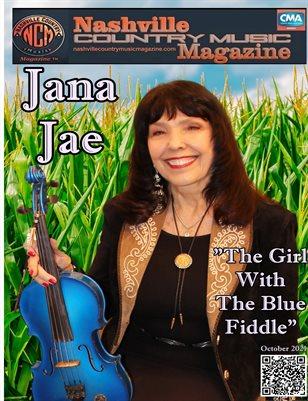 Jana Jae Nashville Country Music Magazine October 2021
