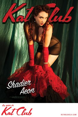 Kat Club No.12 – Shadier Aeon Cover Poster