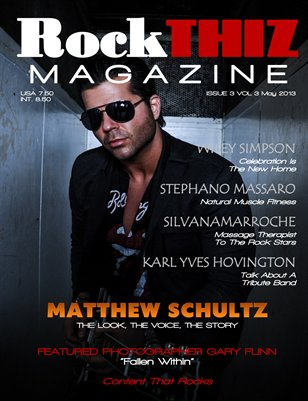Rock Thiz Magazine issue #3 Vol.3 May 2013