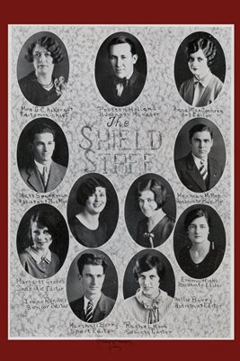 1927-28 MURRAY STATE TEACHER'S COLLEGE SHIELD STAFF