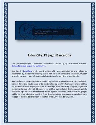 Fidus City: På jagt i Barcelona