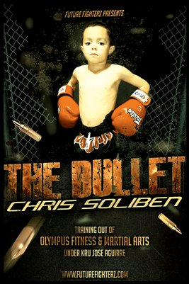 "Chris ""The Bullet"" Soliben Poster"