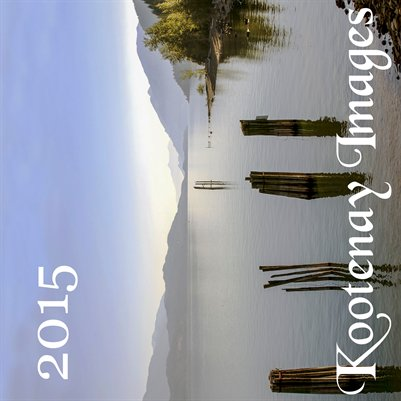 2015 large calendar Kootenays English