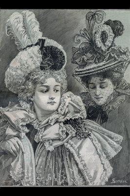 May 1, 1897 HARPER'S BAZAR Magazine Cover 2