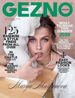 GEZNO Magazine April 2020 Issue #07