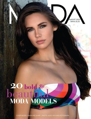 MODA MODELS Unlimited Swim 20.20 Madeline Sharp Cover