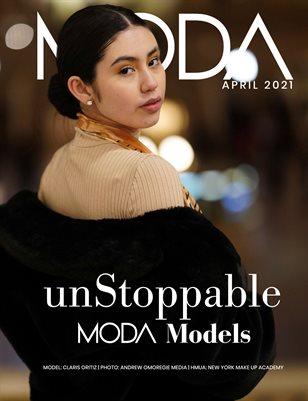 MODA MODELS Andrews Omoregie Cover