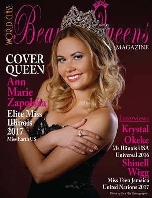 World Class Beauty Queens Magazine with Ann Marie Zapolska