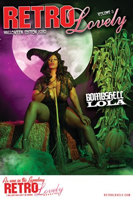 BOMBSHELL LOLA Cover Poster