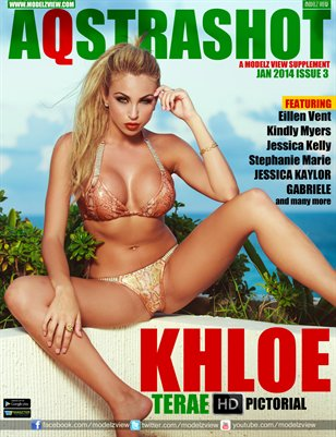 AQSTRASHOT JANUARY 2013 - COVER GIRL : KHLOE TERAE