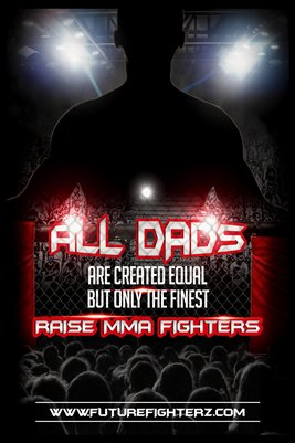 All DADS are created equal Poster - MMA