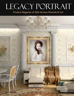 Legacy Portrait - Studio Magazine of Allie Serrano Portraits & Art