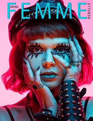 Femme Rebelle Magazine APRIL 2020 - BOOK 2 - Stoke Parker Cover