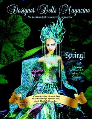 Designer Dolls Magazine - Spring 2016