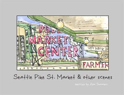 Seattle Pike St Market & other scenes