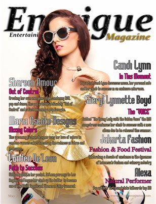 Entrigue Magazine May 2013
