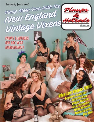 Pinups & Hotrods Issue#7