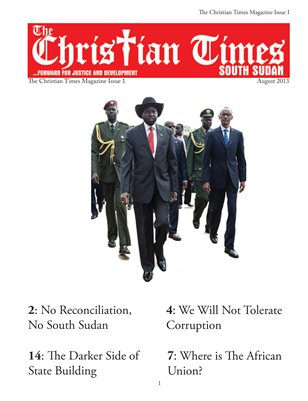 Christian Times South Sudan, Issue 1