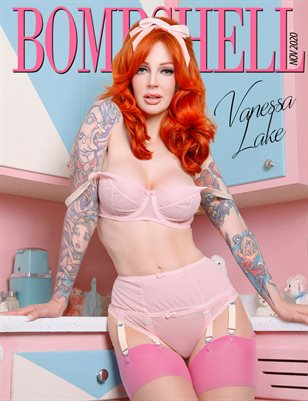 BOMBSHELL Magazine November 2020 - Vanessa Lake Cover