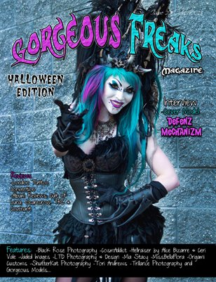 Issue 22 Halloween Edition Cover Model: Defenz Mechanizm