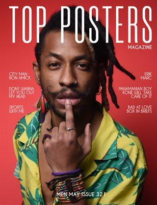 TOP POSTERS MAGAZINE - MEN MAY (Vol 321)